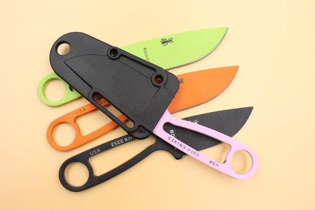 Nouveau couteau de survie utilitaire couteau de camping de sauvetage couteaux de poche tactiques main multi outils couteaux de karambit en plein air colorés