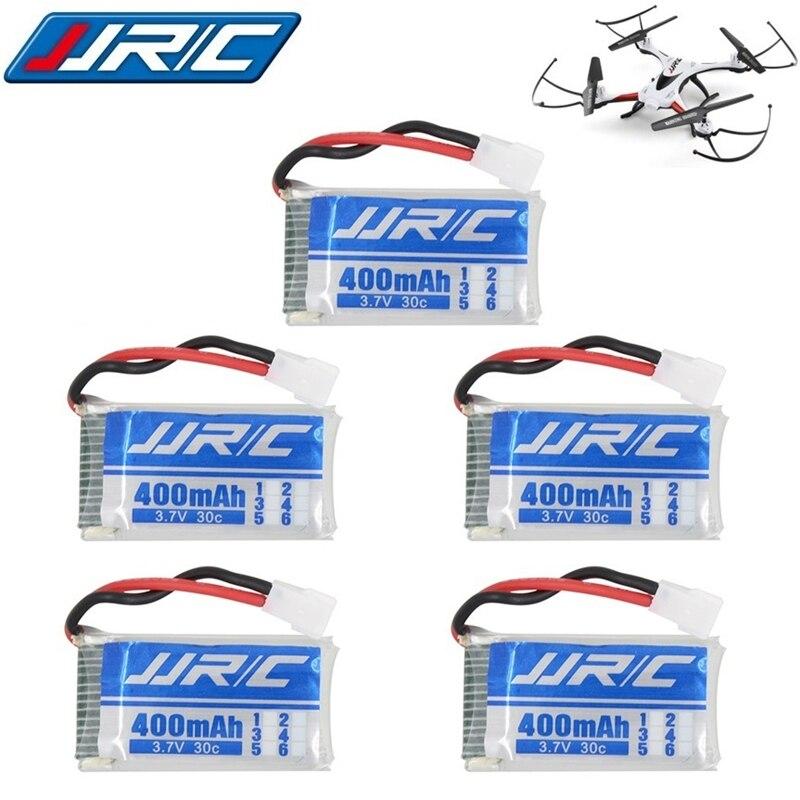 JJRC H31 Original Battery JJRC Spare Parts 5pcs 3.7V 400mah 30C Battery H31 Lipo Battery 3.7 V 400mah For JJRC H31 With Charger