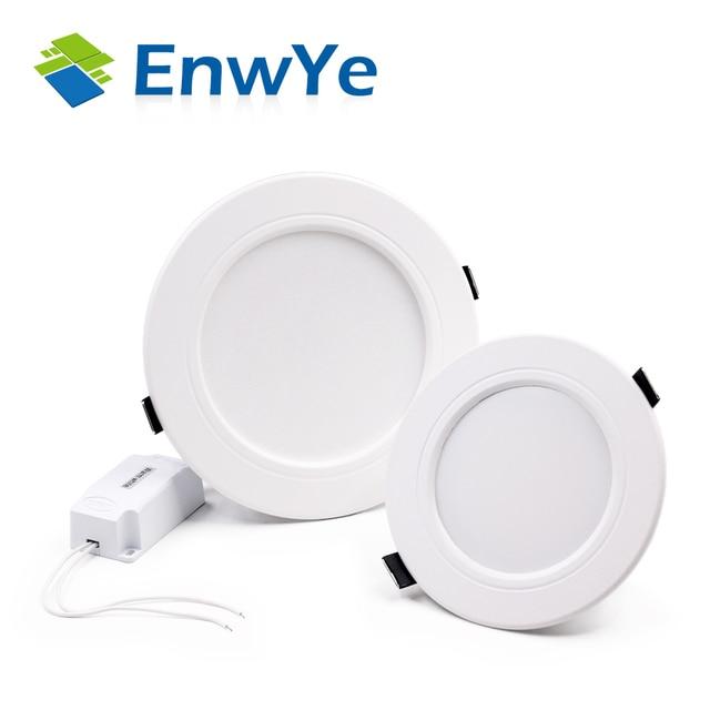 EnwYe White high power led downlights Ceiling lamp 5730SMD 10W 15W 20W 110v 220V 230V 240V AC IC led lamp led light