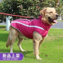 Large Dog Raincoat Waterproof Dog Poncho Vest For Big Dogs Outdoor Pet autumn Vest Rain Cap Blue Golden Retriever Husky WLYANG cap husky cap