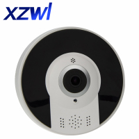 3 0MP HD IP Camera Fisheye Panorama IR Night Vision HD Wifi Camera 360 Degree Full