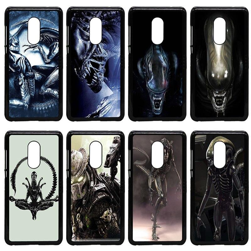Alien vs Predator Mobile Phone Cases Hard PC Plastic Cover for Xiaomi Redmi 3X Mi 6 5 5S Plus Note 4X 2 3 3S 4 Pro Prime Shell
