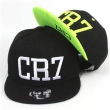 2016 new summer children Ronaldo CR7 Snapback hats kids baseball boys girls MESSI Neymar casquette  Hip Hop Caps