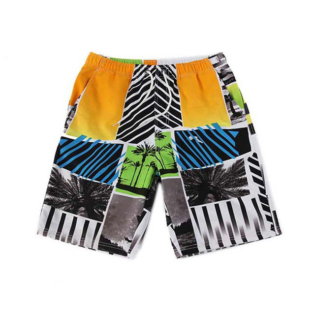 Holishort 2017 polo ming trunks Casual short homme de beach Shorts Men  Swimsuit Speed Dry Beach