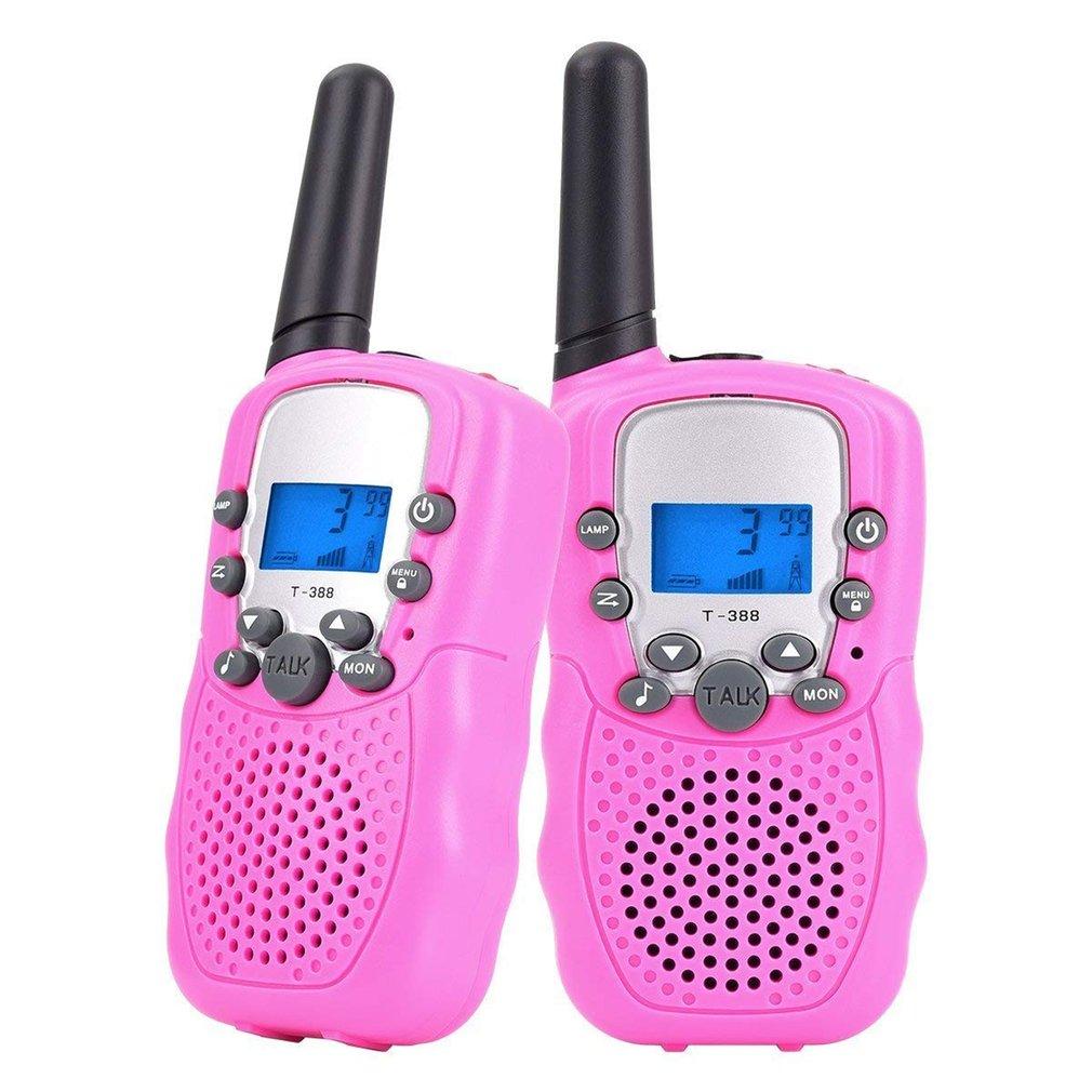 2X Kids Walkie Talkies 22 Channel 2-Way Radio Interphone Handheld Intercom Gift