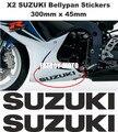 Etiquetas Etiquetas para Bellypan para SUZUKI GSXR 600/750/1000 (PAR) (CUALQUIER COLOR)