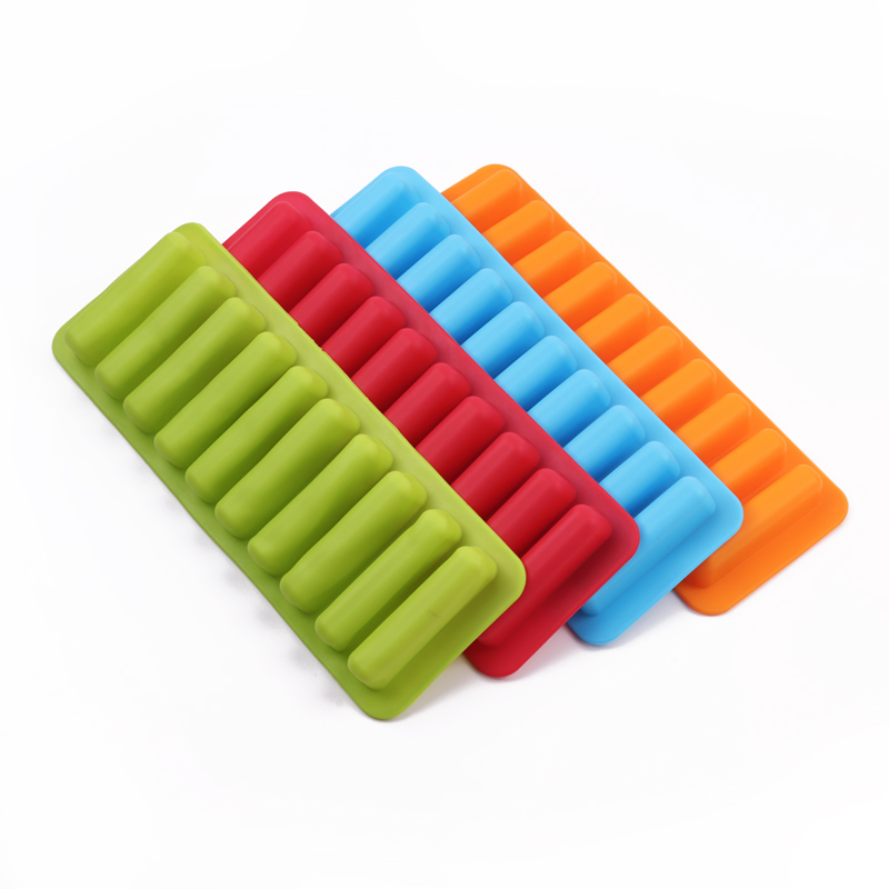kitchen gadgets silicone ice cube tray mold that fits for water bottle ice cream maker tools
