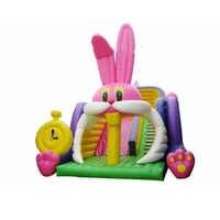 Giant Residential cheap inflatable combo slide bouncy castle jumping bouncer for kids