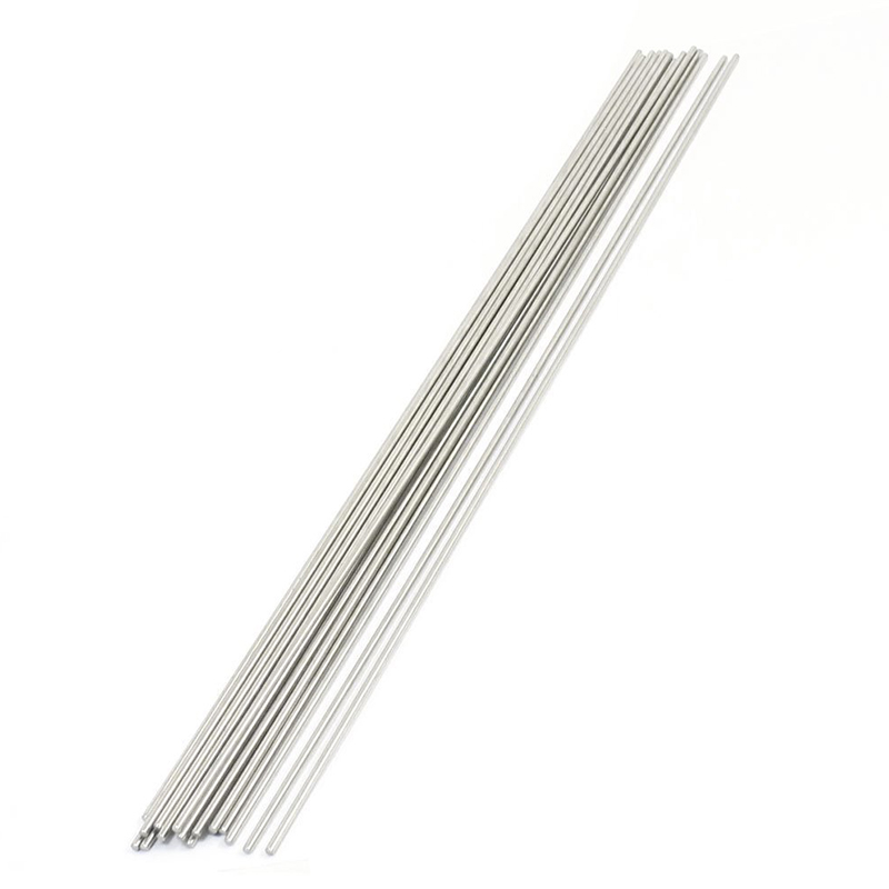 20PCS 300mm x 2mm Stainless Steel Round Rod Axle Bars for RC Toys 10mm 304 stainless bar stainless steel round rod smooth bright surface diy hardware