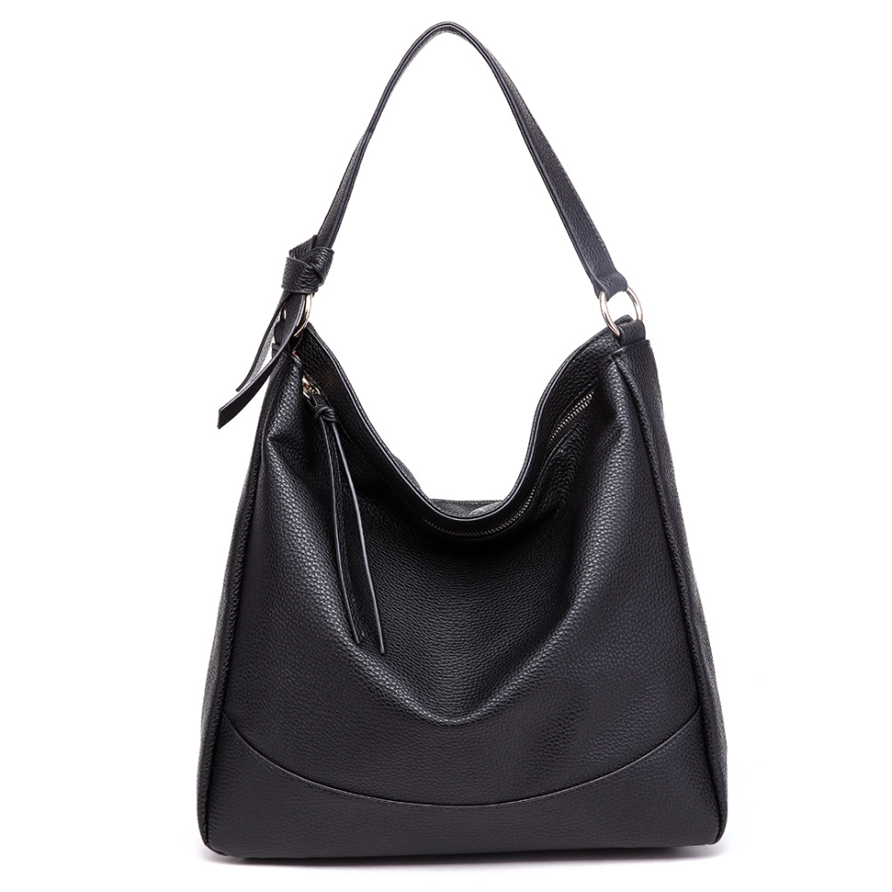 New arrive fashion Midium Size Miss Lulu Leather Look Slouch Hobo Shoulder Tote Bag
