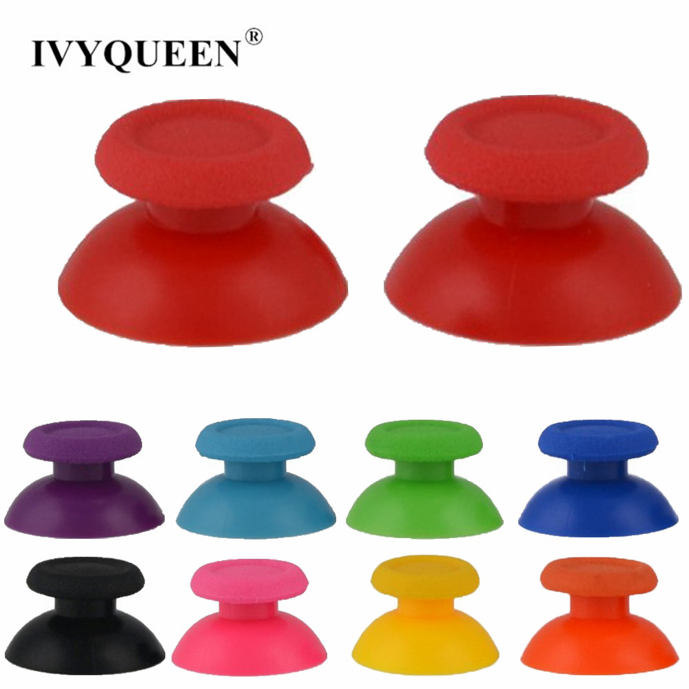 IVYUEEN 17 Colors Analog Stick for PlayStation 4 PS4 Pro Slim Controller Analogue Thumbsticks for Dualshock 4 Control Joystick