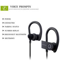Sports Bluetooth Headphones Stereo wireless Earphones 4.1 Anti-sweat Headset Microphone Noise-cancelling Earbud All phone