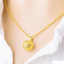 Милые apple ожерелье & подвеска для женщин девушки топ-чистый медь Алло Оптовая Модные полые 3D сердце Шарм Ювелирных Изделий Рождество подарок