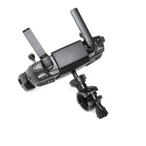 Image 3 - Bicycle Handlebar Holder Mount for DJI Mavic Pro Transmitter Remote Controller Stabilizer 360 degree Rotatable Bracket
