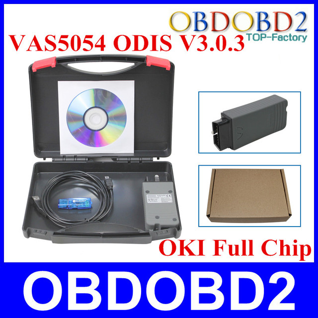 VAS5054 OKI VAS 5054A Full Chip Support UDS VAS5054A ODIS V3.0.3 5054 Diagnostic Tool Scanner For AUDI VW  Skoda OBD2 VAS5054