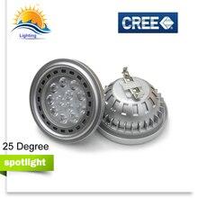 LED Spotlights COB dimmable G53 GU10 AR111 ES111 QR111 lamp light DC 12V AC 110V 220V 12w 15w bulb market cold warm white