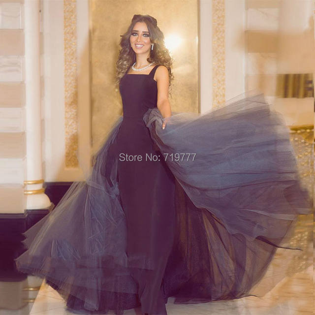 Lebanon-Formal-Evening-Party-Dress-Black-Straight-Prom-Dresses-Detachable-Gray-Long-Train-Robe-De-Soiree (2)