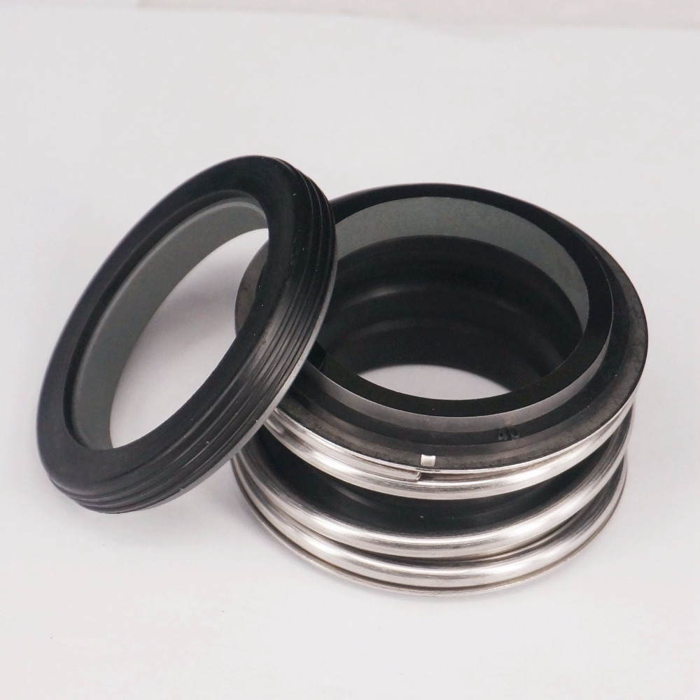 12/14/15/16/17/18/20/22/24/25mm ID Mechanical Water Pump Shaft Seal Single Coil Spring Silicon Carbide vs Silicon Carbide NBR цена