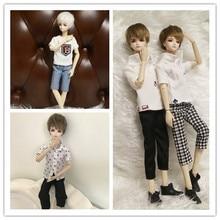 29cm 11 '' bjd pojke dockor försäljning med frisyr smink kläder skor gåva födelsedag Jul baby leksaker unika för barn