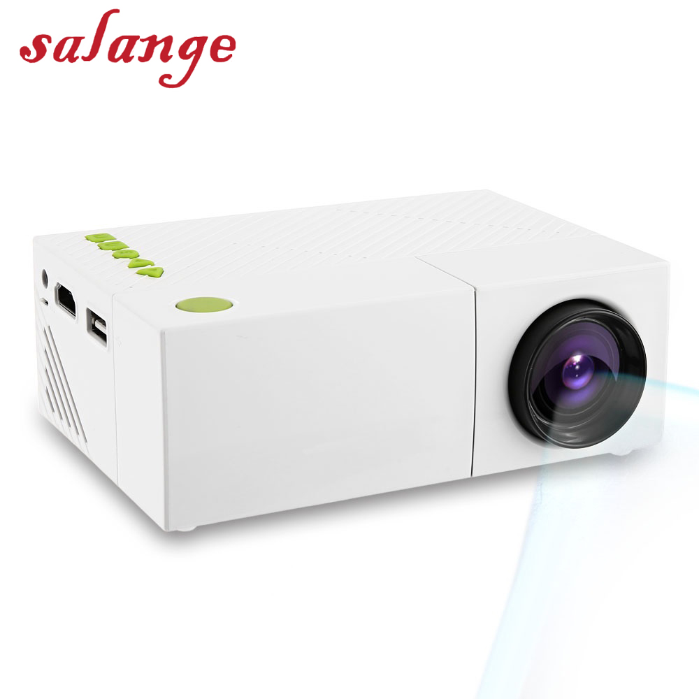YG310 Mini Portable LCD Projector Home Theater Proyector USB SD AV HDMI 600 Lumens 1080P HD LED Portable Projector uc40 55whd 1080p mini home 1080p led projector 50lm w hdmi av sd usb