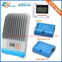 Mppt contrôleur de charge solaire portable ET4415BN Max PV entrée 150 V bluetooth fonction + MT50 45amp en très bas prix