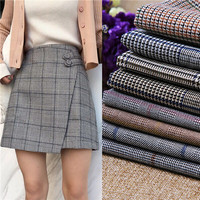 High end woollen cloth, handmade DIY coats skirts, autumn and winter, thickened wool fabric.NW20182052