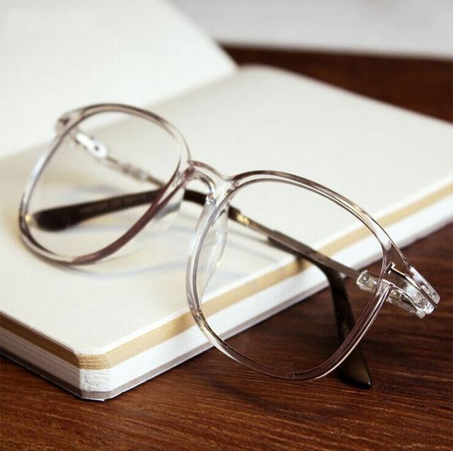 119ea5d91ff9 MOYSSEN Fashion Men s Vintage Transparent Frame Eyeglasses Women Decorative  Nerd Oversized Large Myopia Glasses Frame Eyewear
