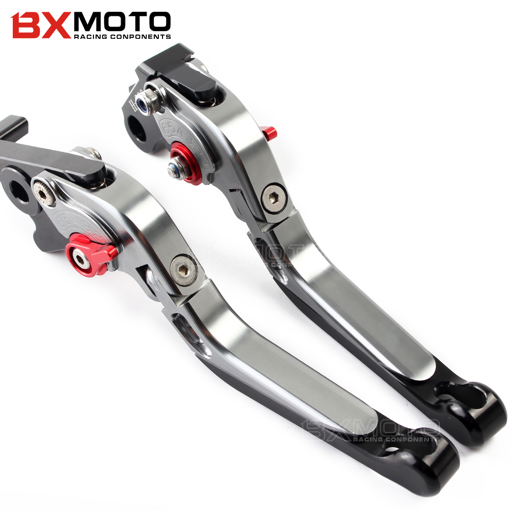 Motorcycle Brake Clutch Levers For BMW R1200GS ADVENTURE LC 2014-2017 R1200GS LC 2013-2017 R 1200 GS R 1200GS adv lc accessories for bmw r1200gs adventure lc 2014 2016 2015 one pair cnc motorcycle brake clutch levers short 10 colors aluminum alloy