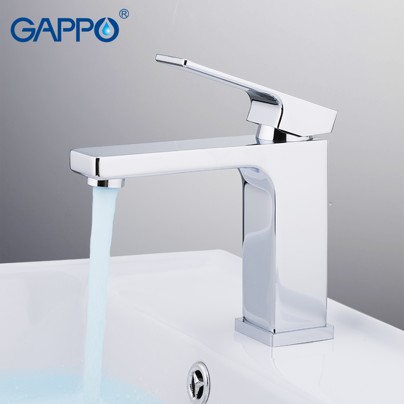 GAPPO basin faucets water mixer tap bathroom sink faucet waterfall brass chrome bathroom taps torneira do banheiro