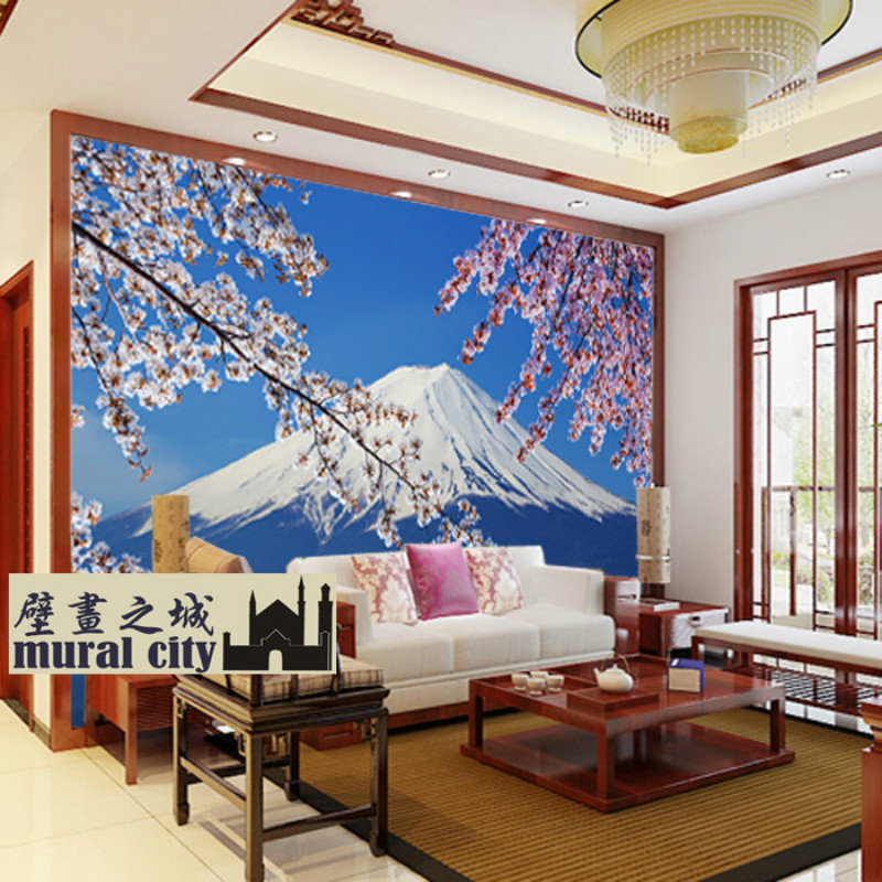Japanese custom 3d wallpaper mural 3d wallpaper 3d for Custom mural wallpaper