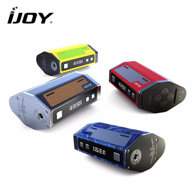 Original IJOY MAXO QUAD 18650 315W Box Mod Vape Firmware Upgradeable Electronic Cigarette Temperature Control Mods