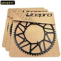 Litepro 130BCD 8/9/10 Speed Single Chainring 48T 50T 52T 54T 56T 58T Black Front Chain Wheel 412 SP8 Folding Bike Road Bicycle