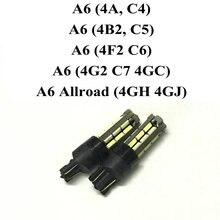 Best Parking Light Bulb For Audi A6 4A C4 4B2 C5 4F2 C6 4G2 C7 4GC Allroad 4GH 4GJ Car Led Lamp light 12v 2Pcs/Lot free shipping 2pcs lot car styling car led lamp error free front turn signal light for audi a6 c5