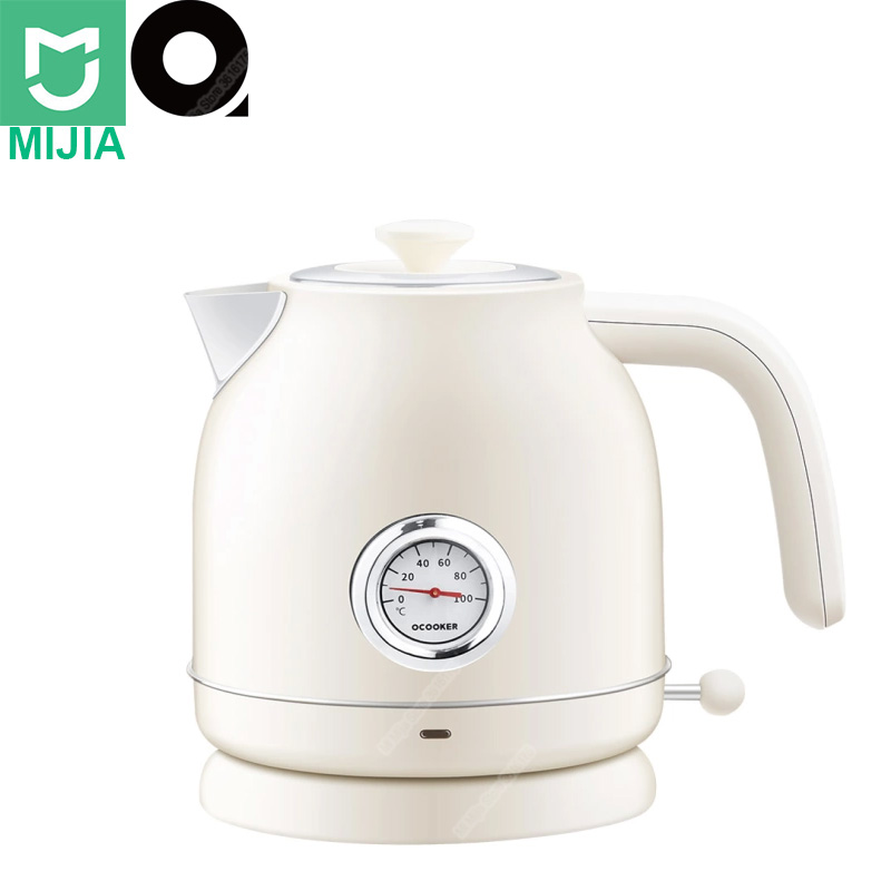 New Xiaomi OCOOKER 1 7L Electric Water Kettle with Temperature Watch Auto Power off Protection Wired