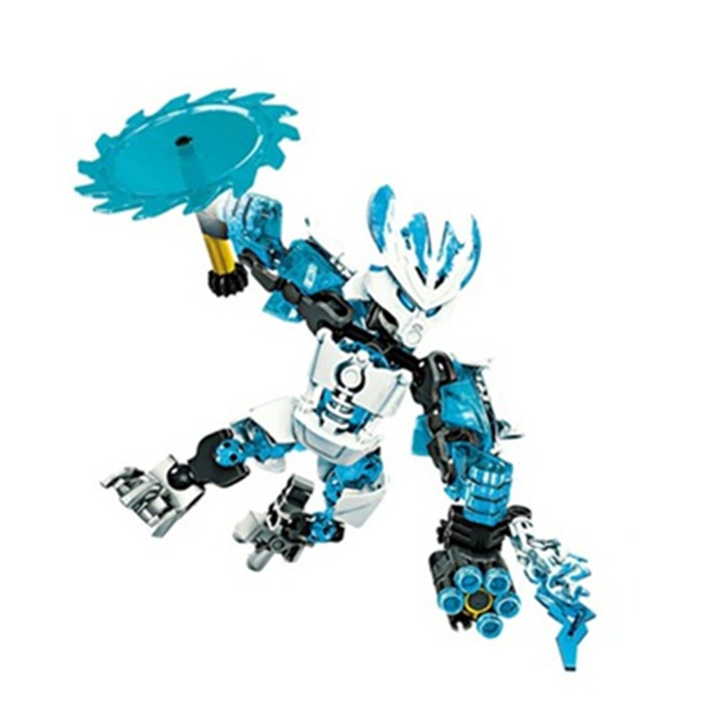 BIONICLE jungle Rock Water Earth Ice Fire figures 706 Building Block toys Compatible With Legoings 1pc in Blocks from Toys Hobbies