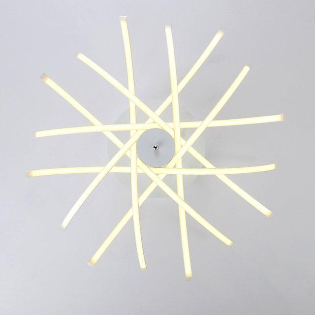 Moderne Led deckenleuchte Streifen Stil Acryl Schatten mit ...
