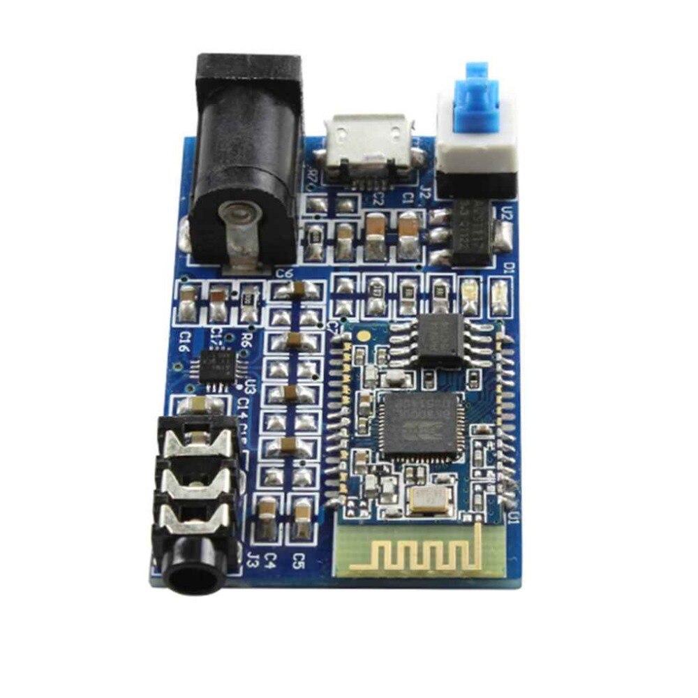 BK8000L Bluetooth Stereo Audio Module Wireless Bluetooth 2.1 Module Audio Receiver Board Chip bluetooth 4 0 audio module csr8630 krc 86b wireless stereo receiver micro usb 3 5mm speaker amplifier sound senser fz1707