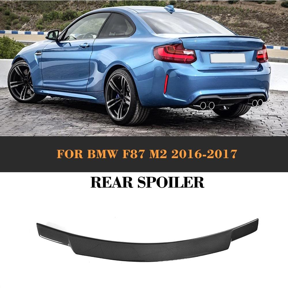 Carbon Fiber Rear Trunk Boot Spoiler Lip Wing for BMW F87 M2 F22 2016 2017 M2 220i 228i 228i Custom Spoiler M StyleCarbon Fiber Rear Trunk Boot Spoiler Lip Wing for BMW F87 M2 F22 2016 2017 M2 220i 228i 228i Custom Spoiler M Style