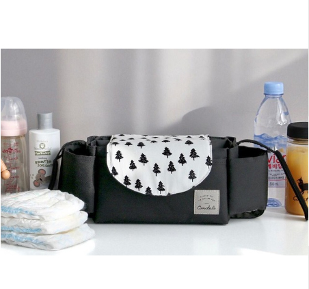 New Fashion Baby Stroller Organizer Baby Waterproof Carriage Bottle Bag Mummy Diaper Nappy Bag Stroller Storage Bag Accessories