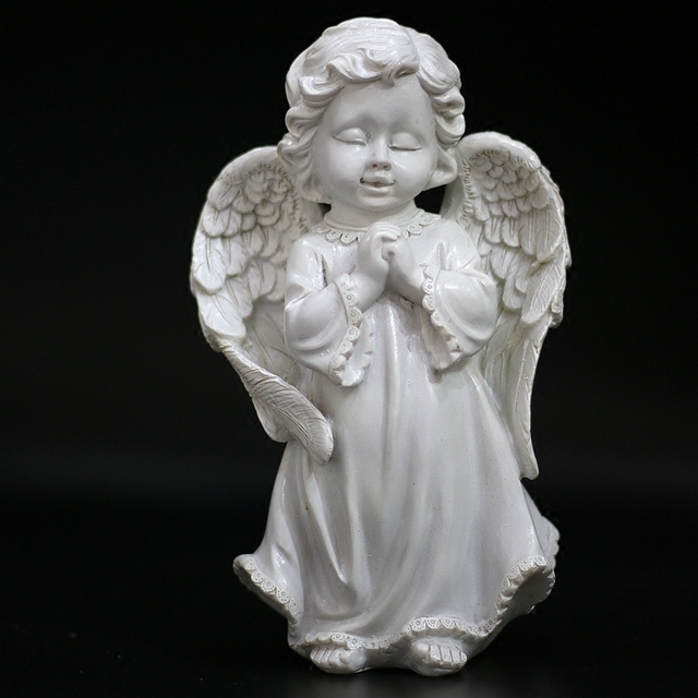 Pray That The Angels Resin Figures Of European Garden Ornaments Home  Furnishing Craft Ornament Praying The