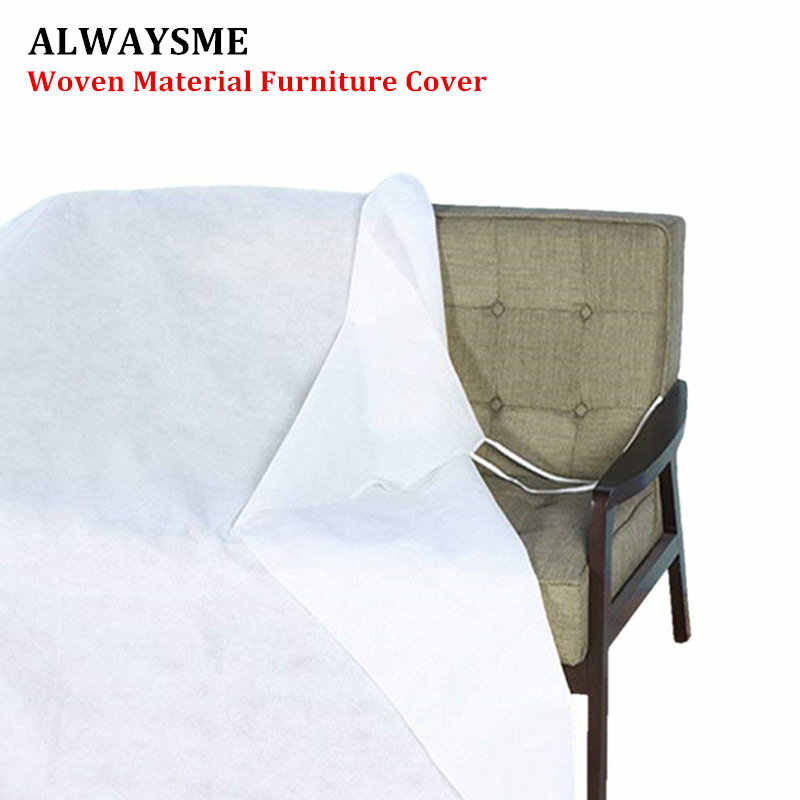 Alwaysme Non Woven Material Furniture Cover For Moving Protection And Long Term Storage Bed
