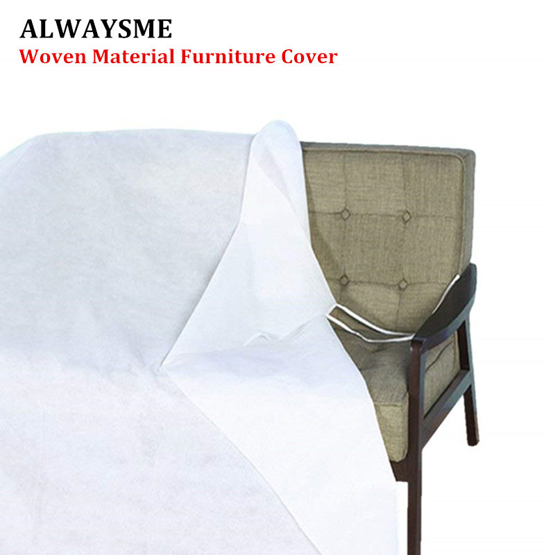 Tremendous Us 1 2 Alwaysme Non Woven Material Furniture Cover For Moving Protection And Long Term Storage For Bed Desk Table Sofa Chair In All Purpose Covers Andrewgaddart Wooden Chair Designs For Living Room Andrewgaddartcom