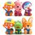 3 Unids/set Baño Juguetes de Agua Flotante de Goma Pororo Juguetes Figuras de Acción Juguetes Aficiones BabyToys Pingüino Para Niños Envío Gratis