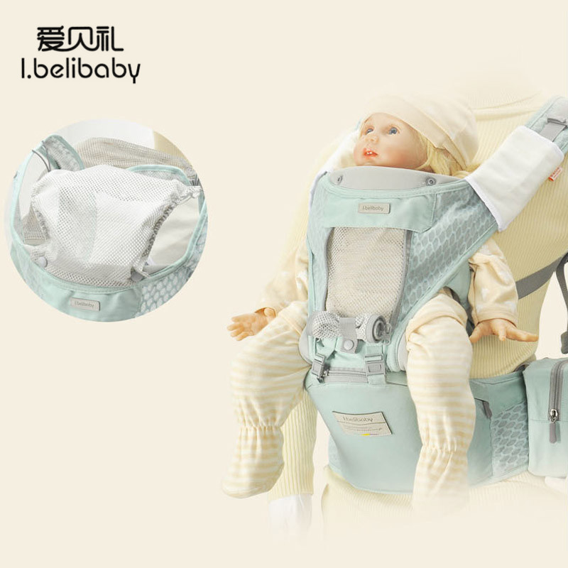 Ibelibaby Baby Carriers High Quality Mesh Baby Wrap Carrier Front Facing Safety Baby Sling Hold Waist Belt Travel AccessoriesIbelibaby Baby Carriers High Quality Mesh Baby Wrap Carrier Front Facing Safety Baby Sling Hold Waist Belt Travel Accessories