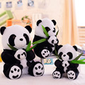 Kawaii Stuffed Animal 23/30/40cm Lovely Panda Plush Toys Soft PP Cotton Mommy and kids Panda Plush Pillow Birthday Gift