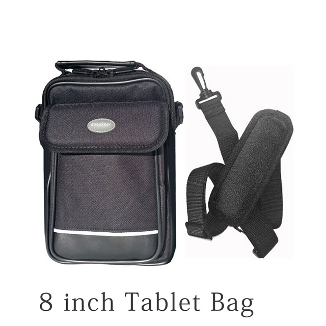 Heavy Duty Zippers Removable Shoulder Strap And Hard Side Screen Protector Tablet Bag For 7 To