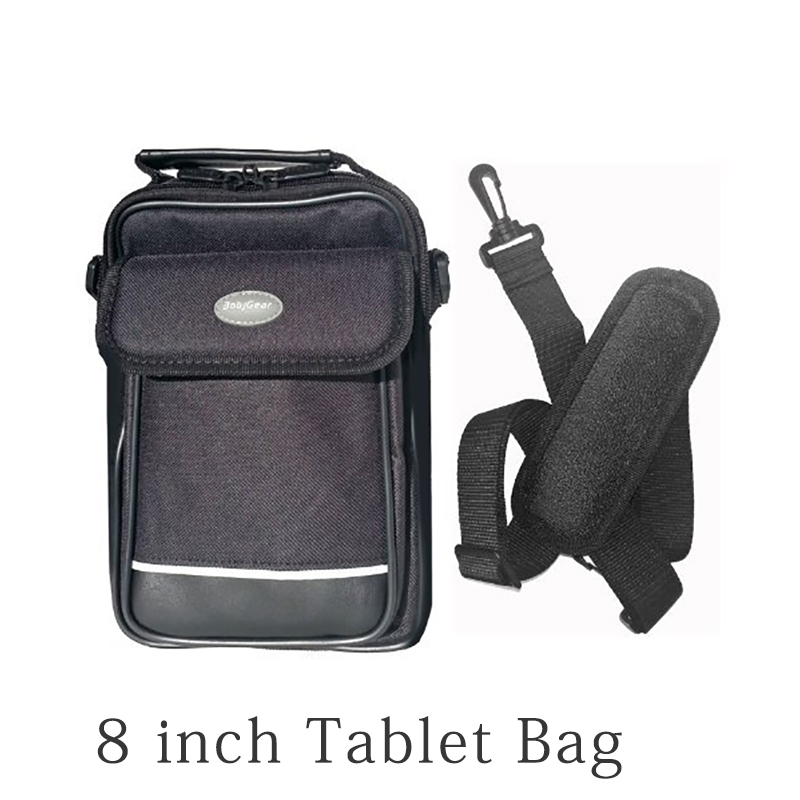 Heavy Duty Zippers Removable Shoulder Strap And Hard Side Screen Protector Tablet Bag For 7 To 8 Inch Tablet Cover Case