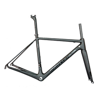 2019 Seraph golssy black carbon road bicycle frame toray t1000 BSA or BB30 all internal cable road bike frame FM066|Bicycle Frame|   -