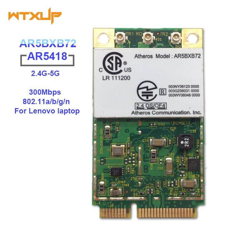 Networking Atheros Ar5418 Ar5008 2.4ghz & 5.0ghz 300mbps Mini Wifi Pci-e Adapter Wireless Wlan Card For Thinkpad X60 X60s X61 R60 R60 T60