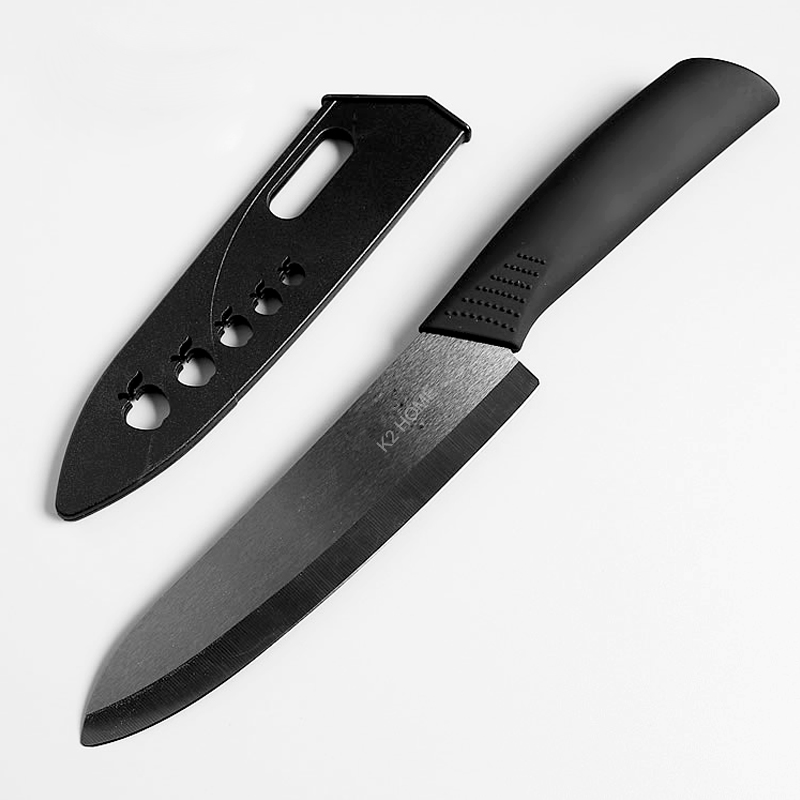 6 Inch Ceramic Chef Knife The Best Specialty Kitchen Gadget For Professional Chefs Razor Sharp Blade And Protective Sheath In Knives From Home